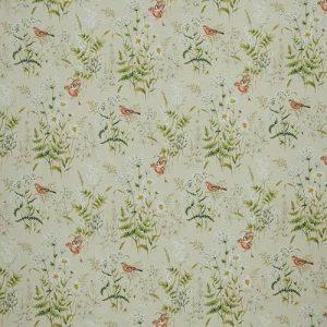 Ткань 350 «Flower art» / 10 Forever spring Coral