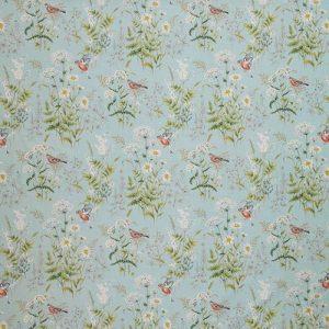 Ткань 350 «Flower art» / 11 Forever spring Eau de nil