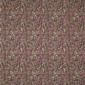 Ткань 350 «Flower art» / 12 Kelmscott Claret
