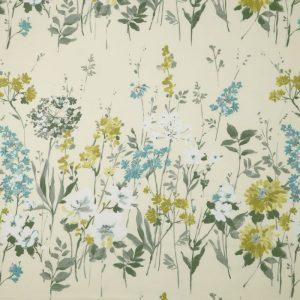 Ткань 350 «Flower art» / 25 Wild meadow Pistachio