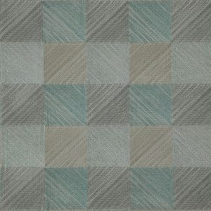 Ткань 361 «Geometric» / 16 Quadro Aquatic
