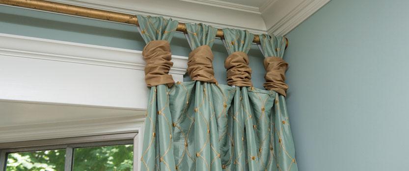 Как выбрать шторы и карнизы