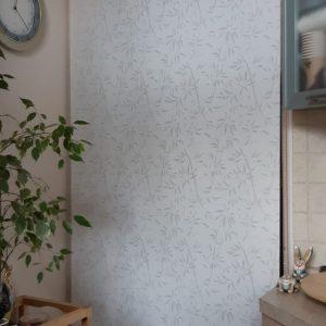 Рулонная штора из ткани Бамбук магнолия