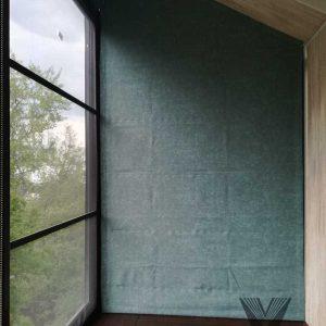 Римская штора на сложные окна