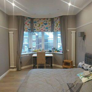 Портьеры и Римские шторы для комнаты мальчика